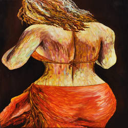 erotic woman #p3, 24 x 36 inch, rajendra prasad  singh,24x36inch,canvas,paintings,figurative paintings,expressionism paintings,realism paintings,paintings for dining room,paintings for living room,paintings for bedroom,paintings for office,paintings for hotel,paintings for hospital,acrylic color,GAL02426136420