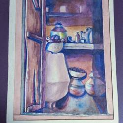 the inside look, 13 x 9 inch, aniruddha lanjewar,13x9inch,handmade paper,paintings,realistic paintings,paintings for dining room,paintings for living room,paintings for bedroom,paintings for office,paintings for kids room,paintings for hotel,paintings for kitchen,paintings for school,paintings for hospital,watercolor,GAL02486636430