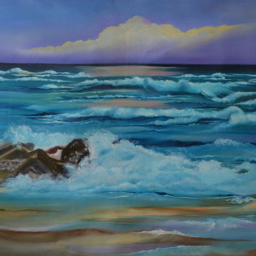 tides, 30 x 24 inch, sudeshna  chatterjee,30x24inch,canvas,paintings,nature paintings | scenery paintings,photorealism paintings,photorealism,realism paintings,realistic paintings,paintings for dining room,paintings for living room,paintings for bedroom,paintings for office,paintings for hotel,paintings for dining room,paintings for living room,paintings for bedroom,paintings for office,paintings for hotel,oil color,GAL02448736457