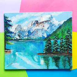 icy mountain landscape, 10 x 12 inch, harsha khanchandani ,10x12inch,canvas,paintings,abstract paintings,cityscape paintings,landscape paintings,modern art paintings,nature paintings | scenery paintings,impressionist paintings,realism paintings,kids paintings,paintings for dining room,paintings for living room,paintings for bedroom,paintings for office,paintings for bathroom,paintings for kids room,paintings for hotel,paintings for kitchen,paintings for school,paintings for hospital,acrylic color,GAL02500836477