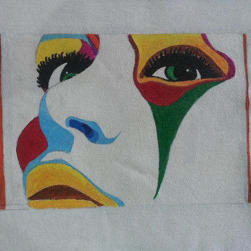 eyes waiting for dreams, 11 x 11 inch, popo singh,abstract paintings,paintings for dining room,canvas,watercolor,11x11inch,GAL013293650
