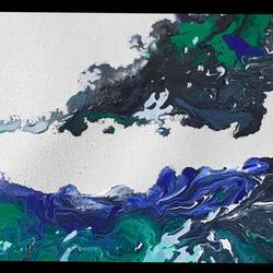 waves in ocean, 9 x 12 inch, naghmi malik,9x12inch,canvas,abstract paintings,paintings for office,paintings for hotel,paintings for school,paintings for hospital,paintings for office,paintings for hotel,paintings for school,paintings for hospital,acrylic color,GAL02129536550