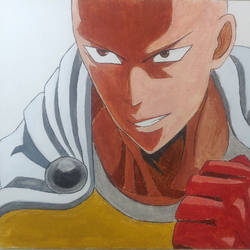 saitama, 12 x 12 inch, vikas soni,12x12inch,canvas board,drawings,paintings for kids room,fine art drawings,pop art drawings,paintings for kids room,acrylic color,mixed media,GAL02514436622