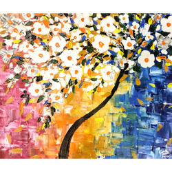 abstract peace, 20 x 17 inch, garima gupta,20x17inch,canvas,paintings,abstract paintings,flower paintings,modern art paintings,impressionist paintings,contemporary paintings,paintings for dining room,paintings for living room,paintings for bedroom,paintings for office,paintings for bathroom,paintings for kids room,paintings for hotel,paintings for kitchen,paintings for school,paintings for hospital,acrylic color,GAL02507036631