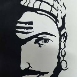 shivaji maharaj, 8 x 11 inch, manva bhadang,8x11inch,paper,paintings,portrait paintings,paintings for living room,paintings for bedroom,paintings for school,paintings for living room,paintings for bedroom,paintings for school,watercolor,ball point pen,paper,GAL02519436661