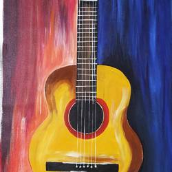 music to life, 23 x 31 inch, rony sinha,23x31inch,canvas,figurative paintings,acrylic color,GAL01225736710