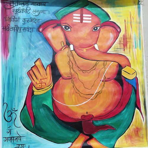 vighna harta, 37 x 41 inch, rony sinha,37x41inch,canvas,paintings,abstract paintings,ganesha paintings | lord ganesh paintings,paintings for dining room,paintings for living room,paintings for bedroom,paintings for office,paintings for kids room,paintings for hotel,paintings for school,paintings for hospital,paintings for dining room,paintings for living room,paintings for bedroom,paintings for office,paintings for kids room,paintings for hotel,paintings for school,paintings for hospital,acrylic color,GAL01225736712