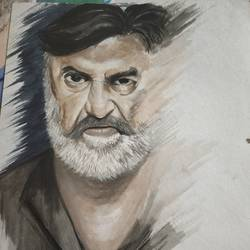 thalaivaa, 11 x 15 inch, sourabh karikatti,11x15inch,thick paper,portrait paintings,realistic paintings,poster color,paper,GAL02521436718