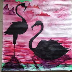 flamingo, 29 x 33 inch, rony sinha,29x33inch,canvas,nature paintings | scenery paintings,paintings for dining room,paintings for living room,paintings for bedroom,paintings for office,paintings for kids room,paintings for hotel,paintings for school,paintings for hospital,paintings for dining room,paintings for living room,paintings for bedroom,paintings for office,paintings for kids room,paintings for hotel,paintings for school,paintings for hospital,acrylic color,GAL01225736719