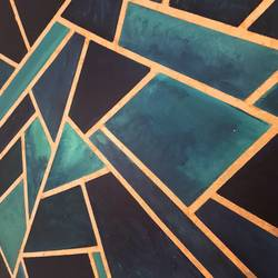 geometric play, 48 x 60 inch, silpa ajith,48x60inch,canvas,paintings,abstract paintings,acrylic color,GAL01584636761