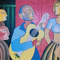 new feelings, 60 x 36 inch, annie artist,60x36inch,canvas,paintings,modern art paintings,paintings for living room,paintings for office,paintings for school,paintings for hospital,oil color,GAL02486636807