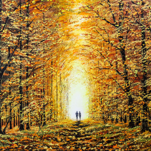 woodscape...forest walk, 20 x 16 inch, suhas varpe,20x16inch,canvas board,paintings,landscape paintings,modern art paintings,nature paintings | scenery paintings,art deco paintings,realism paintings,realistic paintings,love paintings,paintings for dining room,paintings for living room,paintings for bedroom,paintings for hotel,acrylic color,GAL01991536853