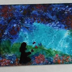 nature with human touch, 6 x 8 inch, kumari anukriti,6x8inch,canvas,conceptual paintings,acrylic color,GAL02547436899