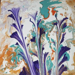 abstract flowers , 12 x 12 inch, sheetal chaudhary,12x12inch,canvas,paintings,abstract paintings,flower paintings,modern art paintings,nature paintings | scenery paintings,abstract expressionism paintings,paintings for dining room,paintings for living room,paintings for bedroom,paintings for office,paintings for kids room,paintings for hotel,paintings for kitchen,paintings for school,paintings for hospital,acrylic color,GAL01560337007