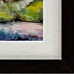 morning cape, 15 x 11 inch, jhalak mishra,15x11inch,rice paper,paintings,landscape paintings,paintings for living room,paintings for hotel,watercolor,GAL02563037150