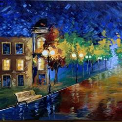 the rainy road , 20 x 36 inch, shivansh  modi,20x36inch,canvas,paintings,modern art paintings,nature paintings | scenery paintings,art deco paintings,pop art paintings,street art,paintings for dining room,paintings for living room,paintings for bedroom,paintings for office,paintings for bathroom,paintings for kids room,paintings for hotel,paintings for kitchen,paintings for school,acrylic color,GAL02580237207