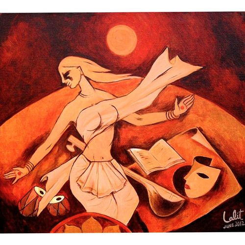 musical beat, 36 x 33 inch, lalit   jain,36x33inch,canvas,abstract paintings,acrylic color,GAL02582037219