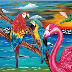 harmony, 48 x 36 inch, salisalima ratha,48x36inch,canvas,paintings,figurative paintings,paintings for dining room,paintings for living room,paintings for bedroom,paintings for office,paintings for kids room,paintings for hotel,paintings for school,paintings for hospital,acrylic color,GAL02519837233