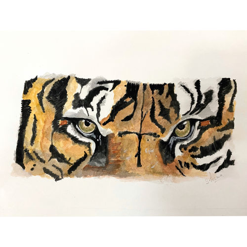 amber , 8 x 4 inch, shivangini  rathore ,8x4inch,thick paper,paintings,abstract paintings,wildlife paintings,conceptual paintings,portrait paintings,nature paintings | scenery paintings,art deco paintings,illustration paintings,portraiture,animal paintings,paintings for dining room,paintings for living room,paintings for bedroom,paintings for office,paintings for hotel,paintings for dining room,paintings for living room,paintings for bedroom,paintings for office,paintings for hotel,watercolor,paper,GAL02587137291