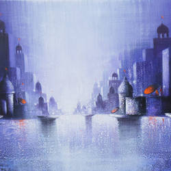 holy banaras, 60 x 24 inch, somnath bothe,60x24inch,canvas,cityscape paintings,realism paintings,contemporary paintings,paintings for dining room,paintings for living room,paintings for office,paintings for kids room,paintings for hotel,paintings for dining room,paintings for living room,paintings for office,paintings for kids room,paintings for hotel,acrylic color,GAL073337296