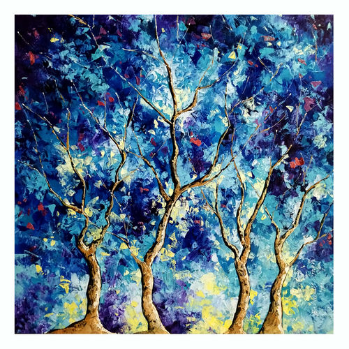 blue winter ii, 30 x 30 inch, bahadur singh,30x30inch,canvas,abstract paintings,figurative paintings,flower paintings,modern art paintings,nature paintings | scenery paintings,art deco paintings,paintings for dining room,paintings for living room,paintings for bedroom,paintings for office,paintings for kids room,paintings for hotel,paintings for kitchen,paintings for school,paintings for hospital,paintings for dining room,paintings for living room,paintings for bedroom,paintings for office,paintings for kids room,paintings for hotel,paintings for kitchen,paintings for school,paintings for hospital,oil color,GAL0635137307