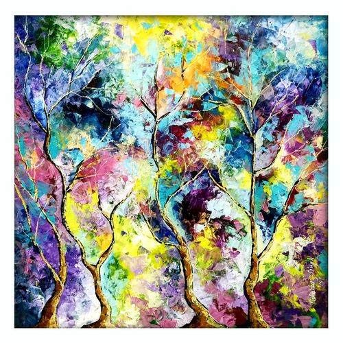 color of nature ii, 30 x 30 inch, bahadur singh,30x30inch,canvas,paintings,abstract paintings,figurative paintings,flower paintings,landscape paintings,modern art paintings,nature paintings | scenery paintings,abstract expressionism paintings,paintings for dining room,paintings for living room,paintings for bedroom,paintings for office,paintings for bathroom,paintings for kids room,paintings for hotel,paintings for kitchen,paintings for school,paintings for hospital,oil color,GAL0635137308