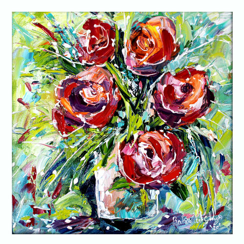 flowers, 12 x 12 inch, bahadur singh,12x12inch,canvas board,paintings,abstract paintings,figurative paintings,flower paintings,landscape paintings,modern art paintings,nature paintings | scenery paintings,contemporary paintings,paintings for dining room,paintings for living room,paintings for bedroom,paintings for office,paintings for bathroom,paintings for kids room,paintings for hotel,paintings for kitchen,paintings for school,paintings for hospital,oil color,GAL0635137309