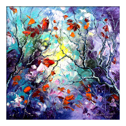 seasons 131, 12 x 12 inch, bahadur singh,12x12inch,canvas board,paintings,abstract paintings,figurative paintings,flower paintings,foil paintings,landscape paintings,modern art paintings,conceptual paintings,nature paintings | scenery paintings,abstract expressionism paintings,art deco paintings,contemporary paintings,paintings for dining room,paintings for living room,paintings for bedroom,paintings for office,paintings for bathroom,paintings for kids room,paintings for hotel,paintings for kitchen,paintings for school,paintings for hospital,oil color,GAL0635137312