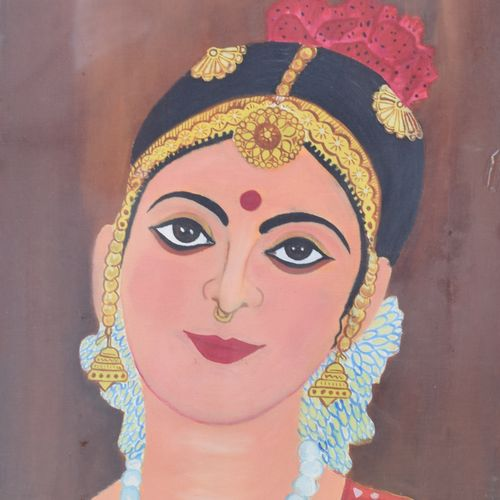 kuchi kalakriti, 12 x 16 inch, shafali khanna,expressionist paintings,paintings for dining room,canvas,oil,12x16inch,GAL013773732