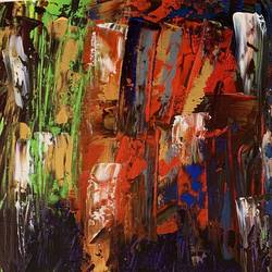 abstract , 28 x 13 inch, meet thakkar,28x13inch,canvas,paintings,abstract paintings,acrylic color,GAL02589837335