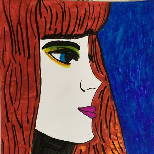 popart , 16 x 11 inch, radhika  mathur,16x11inch,drawing paper,paintings,pop art paintings,ink color,pen color,GAL02599137460