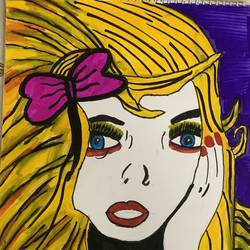 popart , 16 x 11 inch, radhika  mathur,16x11inch,drawing paper,paintings,pop art paintings,ink color,pen color,GAL02599137461