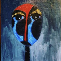 crying mask, 6 x 8 inch, akanksha mishra,6x8inch,canvas board,paintings,abstract paintings,folk art paintings,modern art paintings,conceptual paintings,abstract expressionism paintings,expressionism paintings,pop art paintings,contemporary paintings,paintings for dining room,paintings for living room,paintings for bedroom,paintings for office,paintings for bathroom,paintings for kids room,paintings for hotel,paintings for kitchen,paintings for hospital,oil color,GAL02601937478