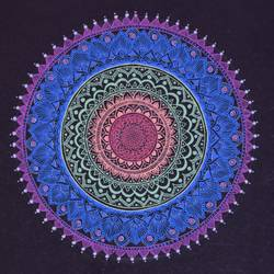 mandala art, 27 x 35 inch, rutuja dambal,27x35inch,canvas,drawings,paintings for living room,abstract drawings,modern drawings,paintings for living room,ink color,GAL02606737551