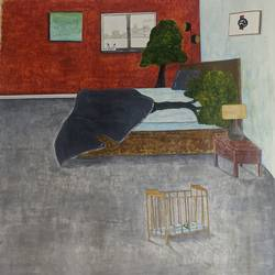 somewhere , 20 x 20 inch, ipsita mahato,20x20inch,thick paper,paintings,conceptual paintings,paintings for dining room,paintings for living room,paintings for bedroom,mixed media,paper,GAL02601837666