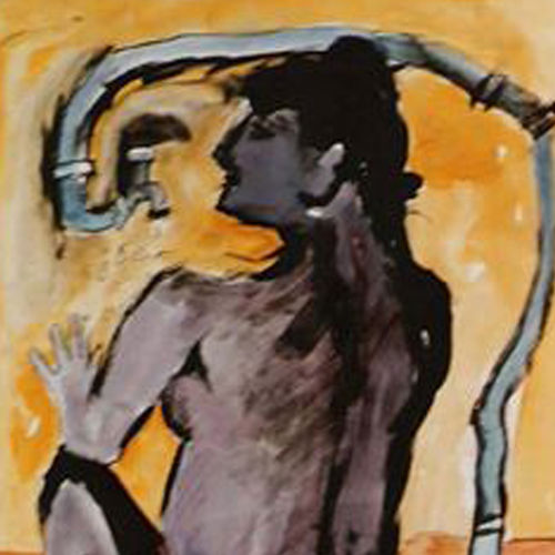 bath series, 10 x 11 inch, arindam chakraborty,figurative paintings,paintings for bedroom,thick paper,ink color,10x11inch,GAL0165377