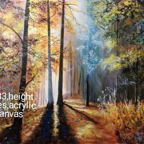 lights of smiles, 33 x 24 inch, md moin ,33x24inch,canvas,paintings,landscape paintings,paintings for living room,paintings for bedroom,paintings for hotel,acrylic color,GAL01096037700