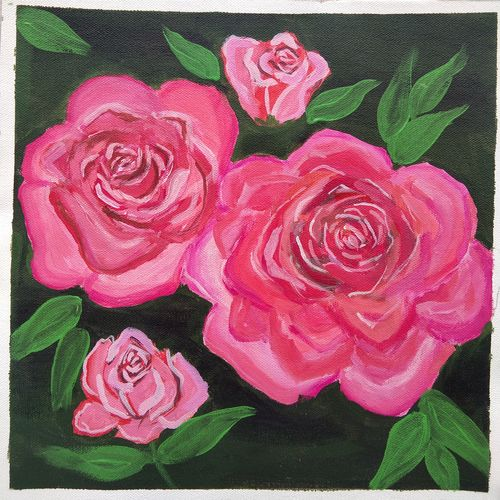 abstract rose flower painting , 12 x 12 inch, vidhya narayanasamy,12x12inch,canvas,paintings,abstract paintings,flower paintings,paintings for dining room,paintings for living room,paintings for bedroom,paintings for office,paintings for kids room,paintings for hotel,paintings for hospital,paintings for dining room,paintings for living room,paintings for bedroom,paintings for office,paintings for kids room,paintings for hotel,paintings for hospital,acrylic color,GAL02450737718