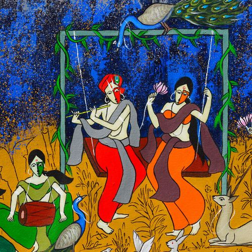 divine couple, 24 x 16 inch, chetan katigar,24x16inch,canvas,paintings,abstract paintings,buddha paintings,wildlife paintings,figurative paintings,flower paintings,folk art paintings,foil paintings,cityscape paintings,landscape paintings,modern art paintings,multi piece paintings,conceptual paintings,religious paintings,still life paintings,nature paintings | scenery paintings,abstract expressionism paintings,art deco paintings,dada paintings,expressionism paintings,illustration paintings,impressionist paintings,pop art paintings,realism paintings,surrealism paintings,ganesha paintings | lord ganesh paintings,animal paintings,radha krishna paintings,contemporary paintings,love paintings,paintings for dining room,paintings for living room,paintings for bedroom,paintings for office,paintings for bathroom,paintings for kids room,paintings for hotel,paintings for kitchen,paintings for hospital,acrylic color,GAL026637754