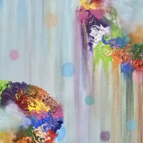 abstract art , 12 x 27 inch, shefali  srivastva,12x27inch,canvas,paintings,abstract paintings,acrylic color,GAL02422037783