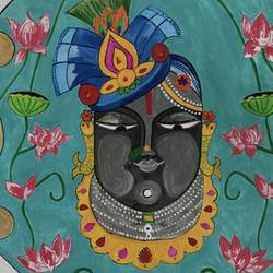 shrinathji, 10 x 14 inch, anjali mewada,10x14inch,thick paper,religious paintings,art deco paintings,paintings for dining room,paintings for living room,paintings for bedroom,paintings for office,paintings for kids room,paintings for hotel,paintings for kitchen,paintings for school,paintings for hospital,paintings for dining room,paintings for living room,paintings for bedroom,paintings for office,paintings for kids room,paintings for hotel,paintings for kitchen,paintings for school,paintings for hospital,acrylic color,paper,GAL02545537801