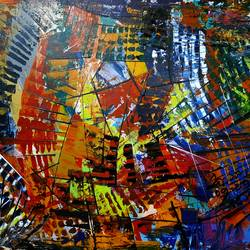 abstract, 24 x 18 inch, musolini rajagopal,24x18inch,canvas,paintings,abstract paintings,acrylic color,GAL01311937807