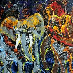 love or lust, 28 x 22 inch, musolini rajagopal,28x22inch,thick paper,paintings,abstract paintings,acrylic color,GAL01311937813