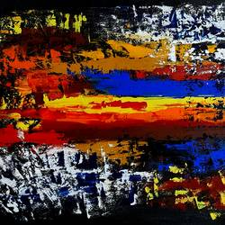 abstract , 24 x 18 inch, musolini rajagopal,24x18inch,canvas,paintings,abstract paintings,acrylic color,GAL01311937825