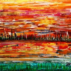 landscape, 24 x 18 inch, musolini rajagopal,24x18inch,canvas,paintings,abstract paintings,acrylic color,GAL01311937827