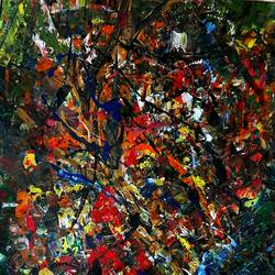 abstract, 22 x 14 inch, musolini rajagopal,22x14inch,thick paper,paintings,abstract paintings,acrylic color,GAL01311937830