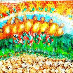 golden glow, 24 x 18 inch, musolini rajagopal,24x18inch,canvas,abstract paintings,acrylic color,GAL01311937834