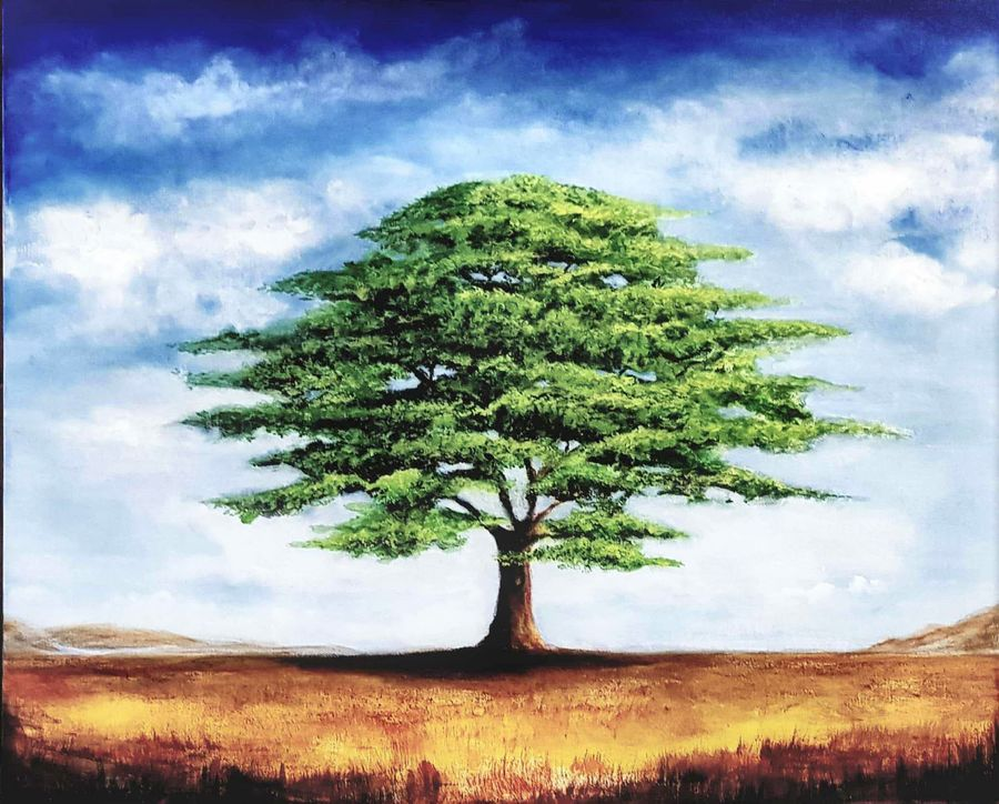 tree of life, 24 x 20 inch, san zac,24x20inch,canvas,paintings,flower paintings,landscape paintings,nature paintings | scenery paintings,expressionism paintings,realistic paintings,paintings for dining room,paintings for living room,paintings for bedroom,paintings for office,paintings for kids room,paintings for hotel,paintings for school,paintings for hospital,acrylic color,GAL02627737841