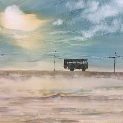 deserted bus, 17 x 12 inch, raju singh,17x12inch,canson paper,abstract paintings,modern art paintings,still life paintings,paintings for dining room,paintings for living room,paintings for bedroom,paintings for office,paintings for kids room,paintings for hotel,paintings for kitchen,paintings for school,paintings for hospital,paintings for dining room,paintings for living room,paintings for bedroom,paintings for office,paintings for kids room,paintings for hotel,paintings for kitchen,paintings for school,paintings for hospital,watercolor,GAL02410037891
