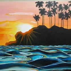 rise and shine, 24 x 18 inch, madhuri thaker,24x18inch,canvas,paintings,landscape paintings,nature paintings | scenery paintings,art deco paintings,illustration paintings,photorealism,surrealism paintings,contemporary paintings,realistic paintings,water fountain paintings,paintings for dining room,paintings for living room,paintings for bedroom,paintings for office,paintings for hotel,paintings for dining room,paintings for living room,paintings for bedroom,paintings for office,paintings for hotel,acrylic color,GAL02637737918